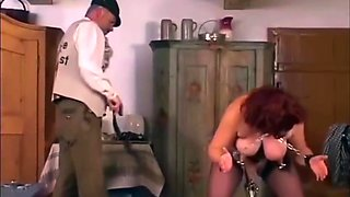 Training His Slave At Home