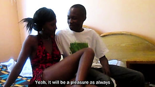 Fucking My African Girlfriend from behind