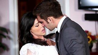 Fucking His New Stepmom On Her Wedding Day