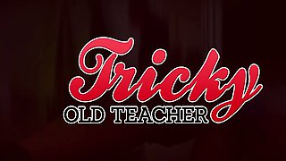 Tricky Old Teacher - This perverted old teacher