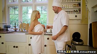 brazzers - real wife stories - the caterer scene starring am