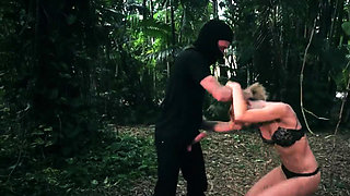 Rough brutal teen dp and female dominating man Raylin Ann