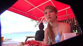 Incredible Japanese slut in Horny Blowjob, Voyeur JAV video