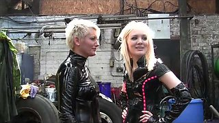 2 dommes talking and making plans