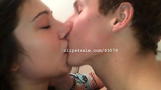 Aaron and Nikky Kissing Video 1