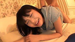 Crazy Japanese girl Kurumi Tachibana in Incredible big tits, nipples JAV clip
