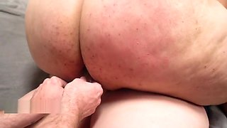 Her huge butt needed fucking by hubby and wife