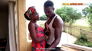 Real African Amateur Girl Has Neighbour Over To get a Pounding from his BBC