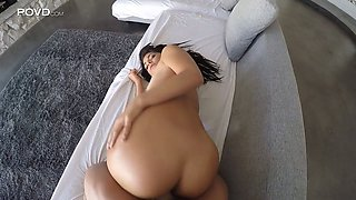 Playful Brazilian chick Gina Valentina gives BJ in the car and gets laid in the hotel room