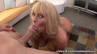 Best pornstars Karen Fisher, Skye Blue, Betsy Blue in Incredible Blonde, POV adult video