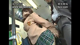 Asian girl bus fuck