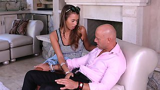MyBabySittersClub - Hot Babysitter Seduces New Boss