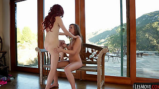 We Love Les RedHeads Elle Alexandra, Maddy O'Reilly, Lina, Nicolle, Karlie Monta