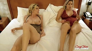 Nikki Brooks and Cory Chase in Hotel Room Breaking and Entering