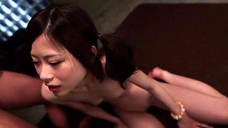 Hottest Japanese chick Hikari Okamoto in Amazing JAV censored Small Tits, College scene