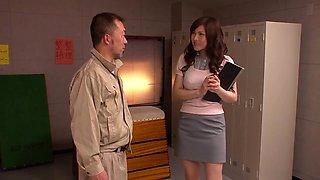 SOE-607C No Trouble Is Too Erotic Naked Teacher