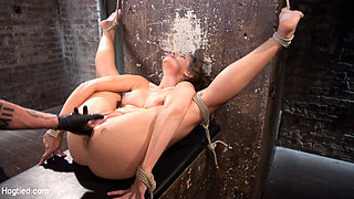 Cassidy Klein & The Pope in Fresh Meat In Extreme Bondage Suffering Through Torment And Squirting Orgasms - HogTied
