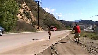 Hot Black Nude In Public Places