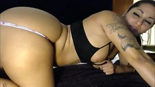 Latina Getting Fucked By Toy Machine