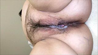 Mature Creampie Pee
