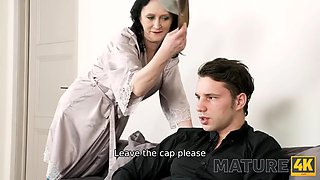 MATURE4K. Charmer cant see his upset stepson and is better drilled by him