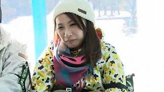 Best Japanese slut Nozomi Wakui, Anna Momoi in Amazing Masturbation, Public JAV scene