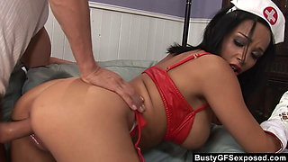BrutalClips - Bailey Blue Stretching Up That Cute Pussy