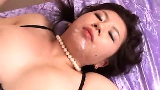 Exotic Japanese slut Sayuri Takamine in Fabulous Lingerie, Dildos/Toys JAV clip