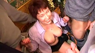 Crazy Homemade record with Young/Old, Cumshot scenes