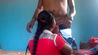 Hot and sexy indian lovers fucking