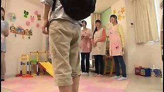 Japan big boobs teacher student group sex