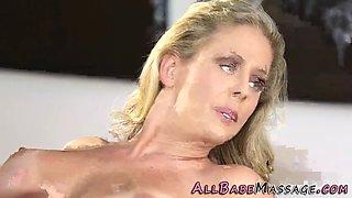 masseuse lesbian foursome