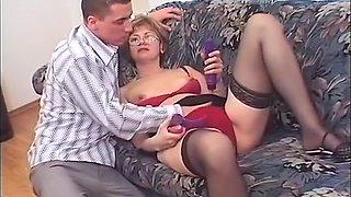 Best pornstar in amazing fetish, milfs sex movie