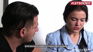 Exchange Russian Student Has First Time Dp Sex - Oktavia Milton