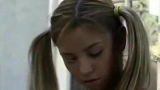 Cute teen Allysin Chaynes loses anal virginity