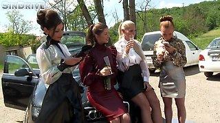 19yrold Hottie Pissing Contest Hd - Susan Ayn And Bella Anne