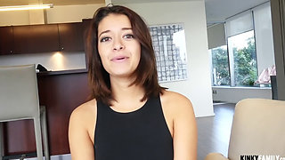Big Dick Surprise For Step Sister
