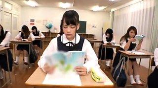 Japanese Bus Girls In Uniform Public 240293