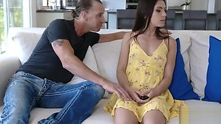 Daddy Fucks Daughter While Mom Naps- Gianna Gem
