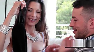 MILF Alexa gets her ass toyed before having anal sex and getting facialed.