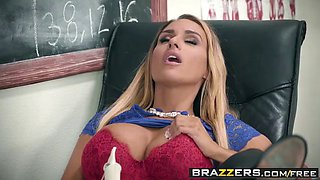 brazzers - big tits at school -  washing her mouth out with