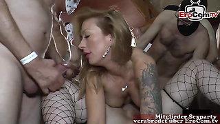 German moms at creampie userdate orgy NO CONDOM cum loads
