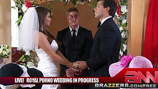 Brazzers Main Channel  - Madelyn Marie & Ramon - The Royal Porno Wedding