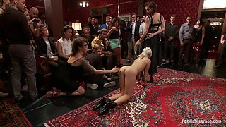 Princess Donna Throws a B Day Party Full of Sex Bondage and Humiliation