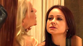 The Education of Erica: Gorgeous Lesbian Slaves Orgasming