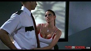 security guard fucks schoolgirl