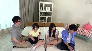 Japanese couples swap partners (DVDMS316) JAV