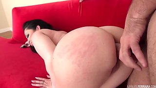 Melina Mason - Spreads Her Cheeks For A Hard Anal Pounding