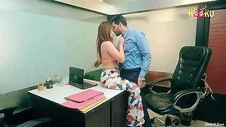 Office Affair - Secretary With Boss