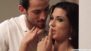 Alexa Tomas & Joel Tomas & Paula Shy in A Voyeur Story - CouplesCinema